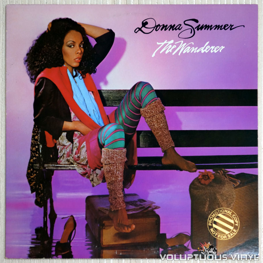 Donna Summer ‎– The Wanderer - Vinyl Record - Front Cover