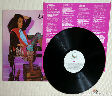 Donna Summer ‎– The Wanderer - Vinyl Record