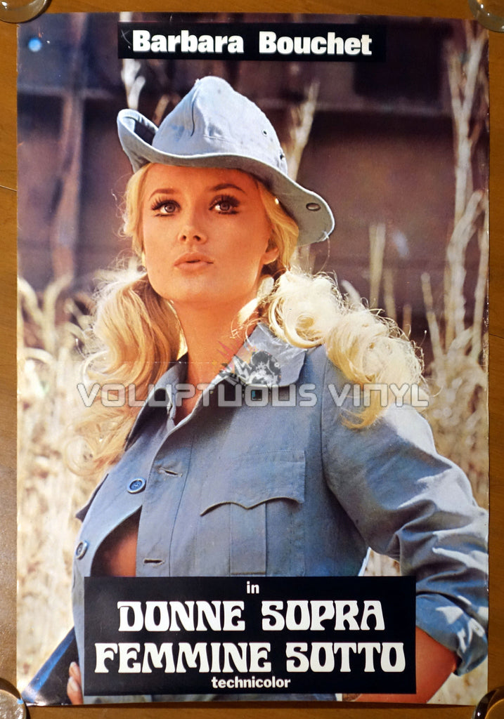 The Rogue (1971) - Italian Fotobusta - Barbara Bouchet Nipple