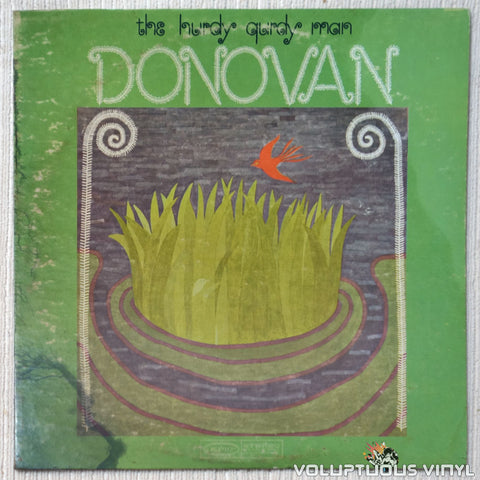 Donovan ‎– The Hurdy Gurdy Man vinyl record front cover