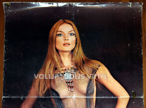 Don't Torture A Duckling - Sexy Nude Barbara Bouchet - Original Movie Poster Top Half