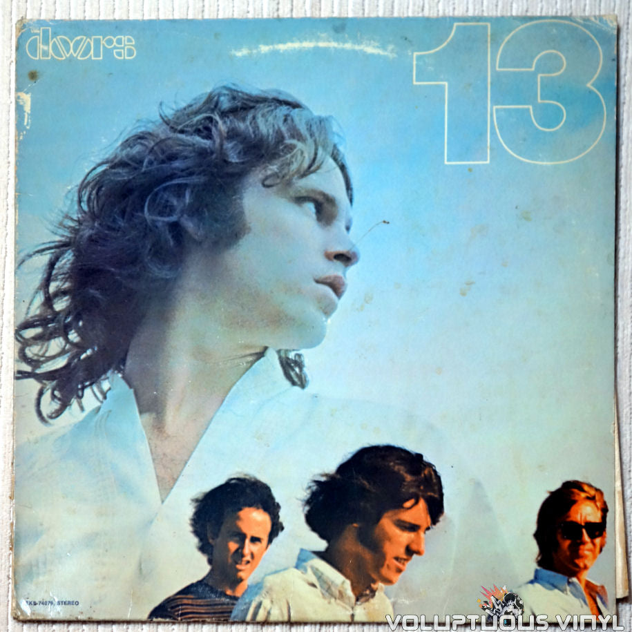 The Doors ‎– 13 vinyl record front cover
