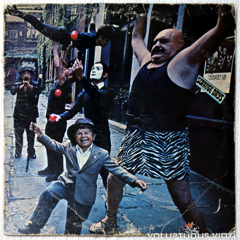 The Doors ‎– Strange Days vinyl record front cover