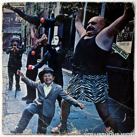 The Doors ‎– Strange Days - Vinyl Record - Front Cover