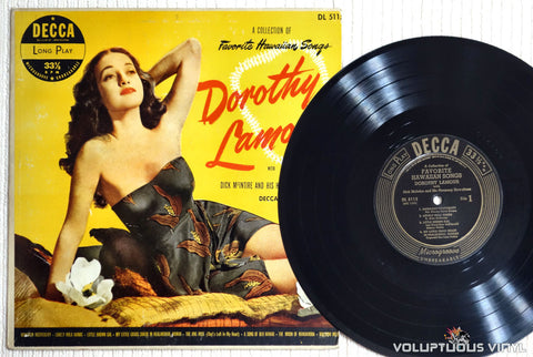 Dorothy Lamour - A Collection Of Favorite Hawaiian Songs - Vinyl Record