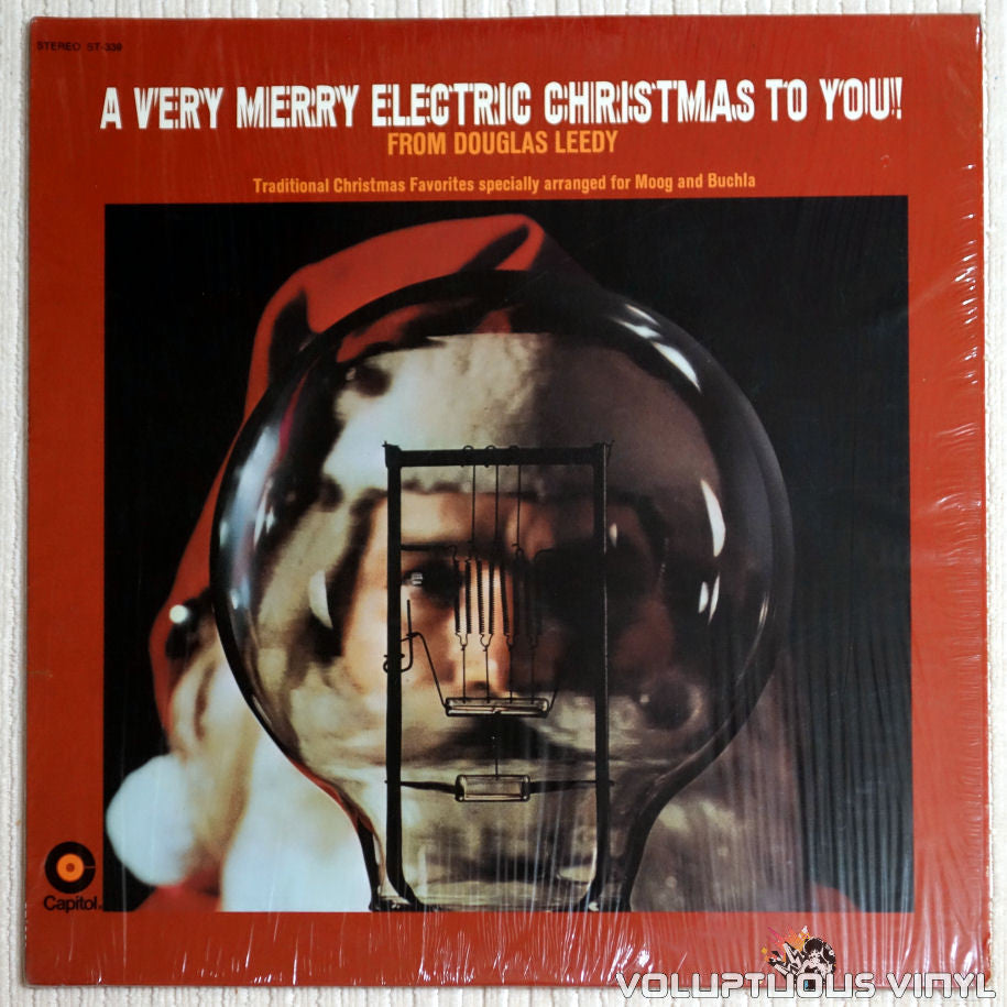 Douglas Leedy ‎– A Very Merry Electric Christmas To You! - Vinyl Record - Front Cover