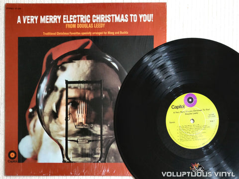 Douglas Leedy ‎– A Very Merry Electric Christmas To You! - Vinyl Record