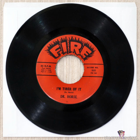 "Dr. Horse ‎– I'm Tired Of It (1961) 7"" Single"
