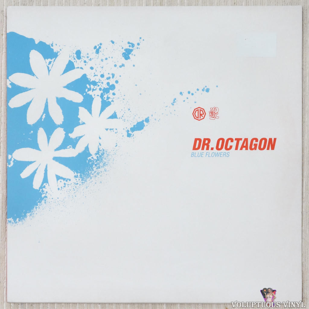Dr. Octagon ‎– Blue Flowers vinyl record front cover