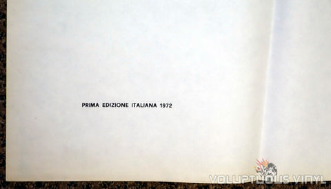 Dracula A.D. 1972 Italian 4F Poster - First Edition