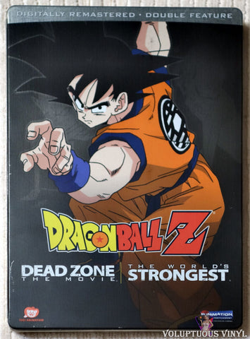 Dragon Ball Z: Dead Zone / World's Strongest DVD steelbook front cover