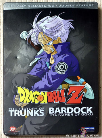 Dragon Ball Z: The History of Trunks / Bardock (2008) 2xDVD Steelbook