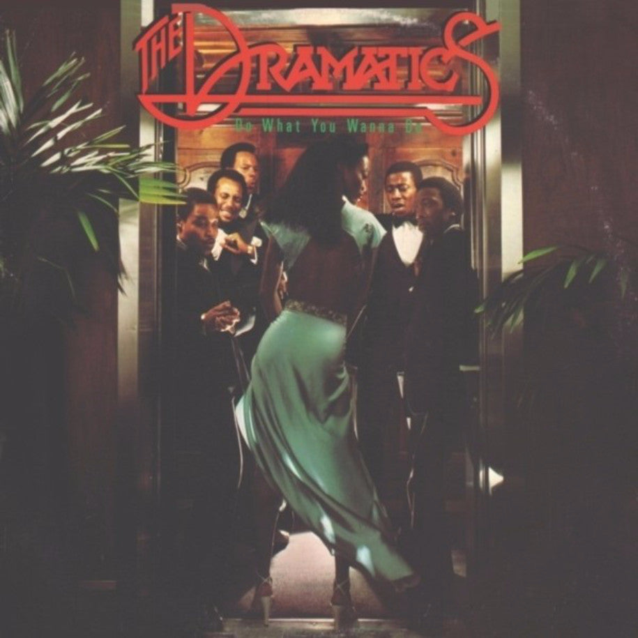 The Dramatics ‎– Do What You Wanna Do - Vinyl Record - Front Cover