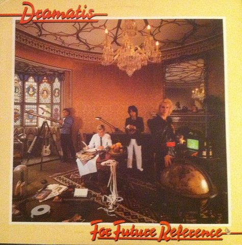 Dramatis ‎– For Future Reference (1981) Canada Press Cheap Vinyl Record