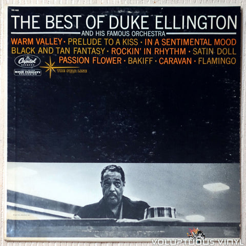 Duke Ellington And His Famous Orchestra ‎– The Best Of Duke Ellington And His Famous Orchestra vinyl record front cover