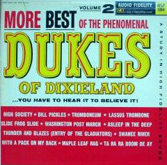 The Dukes Of Dixieland ‎– More Best Of The Phenomenal Dukes Of Dixieland, Volume 2 (1962) Vinyl Record