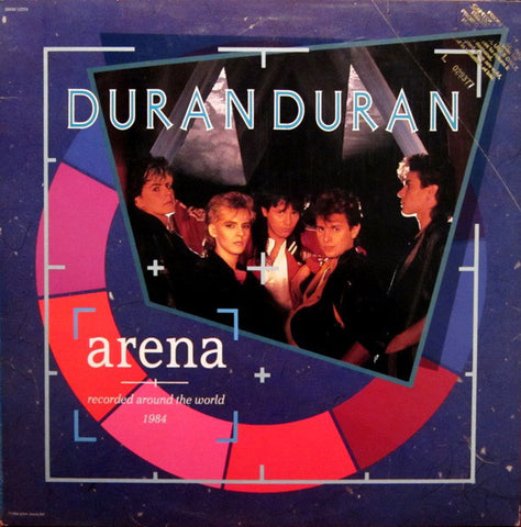 Duran Duran ‎– Arena | Recorded Around The World 1984 (1984) Vinyl Record