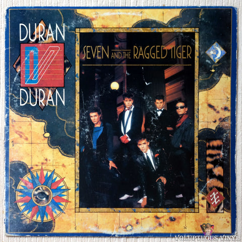 Duran Duran ‎– Seven And The Ragged Tiger vinyl record front cover