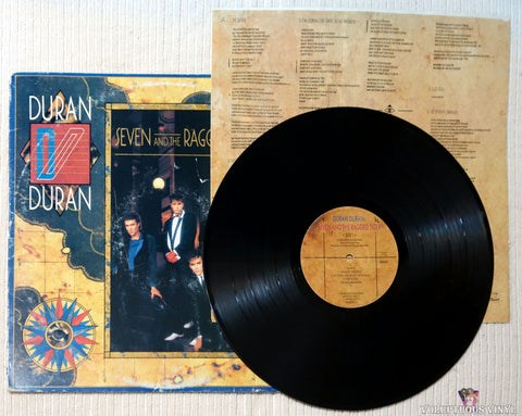 Duran Duran ‎– Seven And The Ragged Tiger vinyl record
