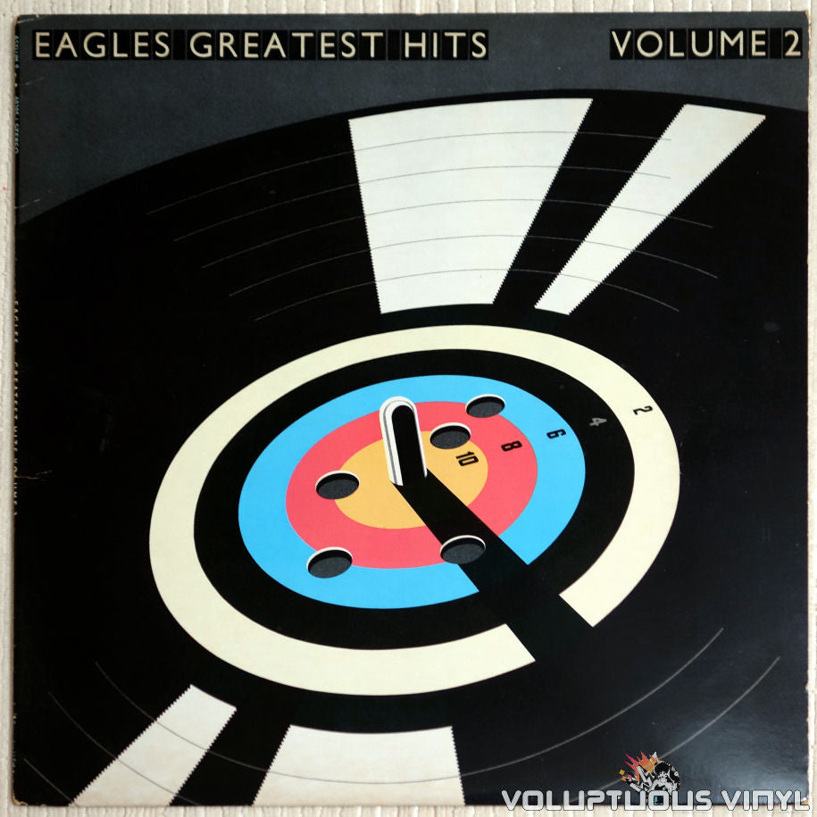 Eagles ‎– Eagles Greatest Hits Volume 2 - Vinyl Record - Front Cover
