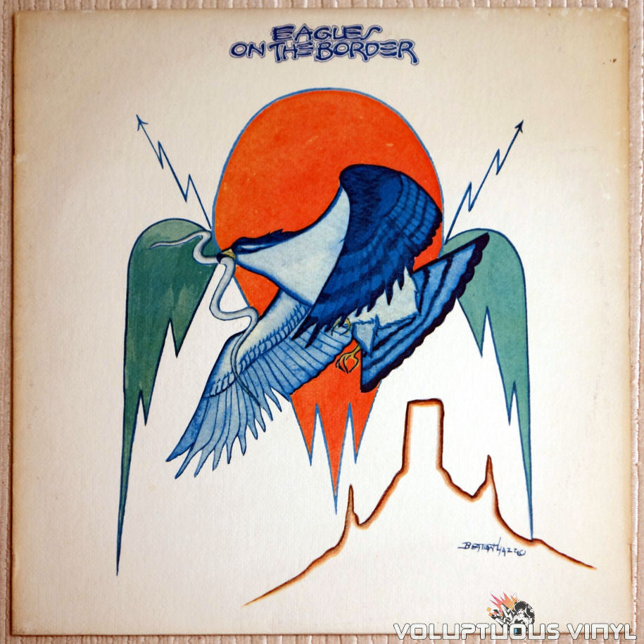 Eagles ‎– On The Border - Vinyl Record - Front Cover