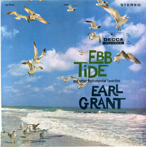 Earl Grant ‎– Ebb Tide And Other Instrumental Favorites (1961) Cheap Vinyl Record