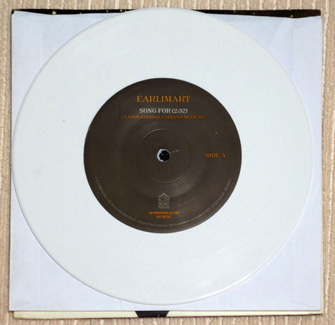 Earlimart ‎Song For Limited Edition White Vinyl Record Single