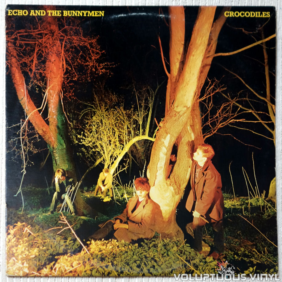 Echo And The Bunnymen ‎– Crocodiles - Vinyl Record - Front Cover