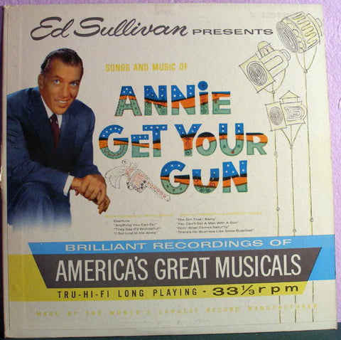 Ed Sullivan Presents Songs And Music Of Annie Get Your Gun (1959) Cheap Vinyl Record