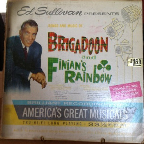 Ed Sullivan Presents Songs And Music Of Brigadoon & Finian's Rainbow (1959) Cheap Vinyl Record