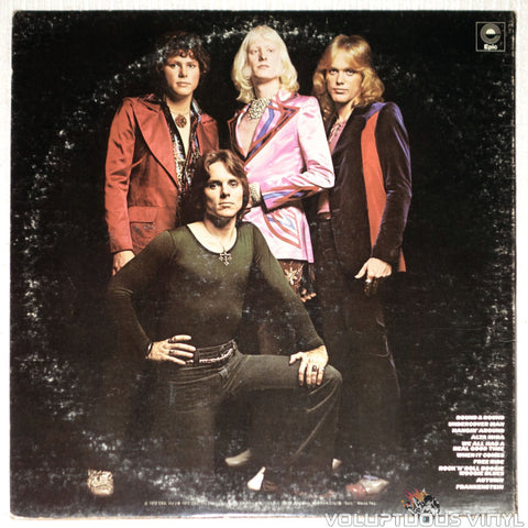 Edgar Winter Group, The ‎– They Only Come Out At Night - Vinyl Record - Back Cover