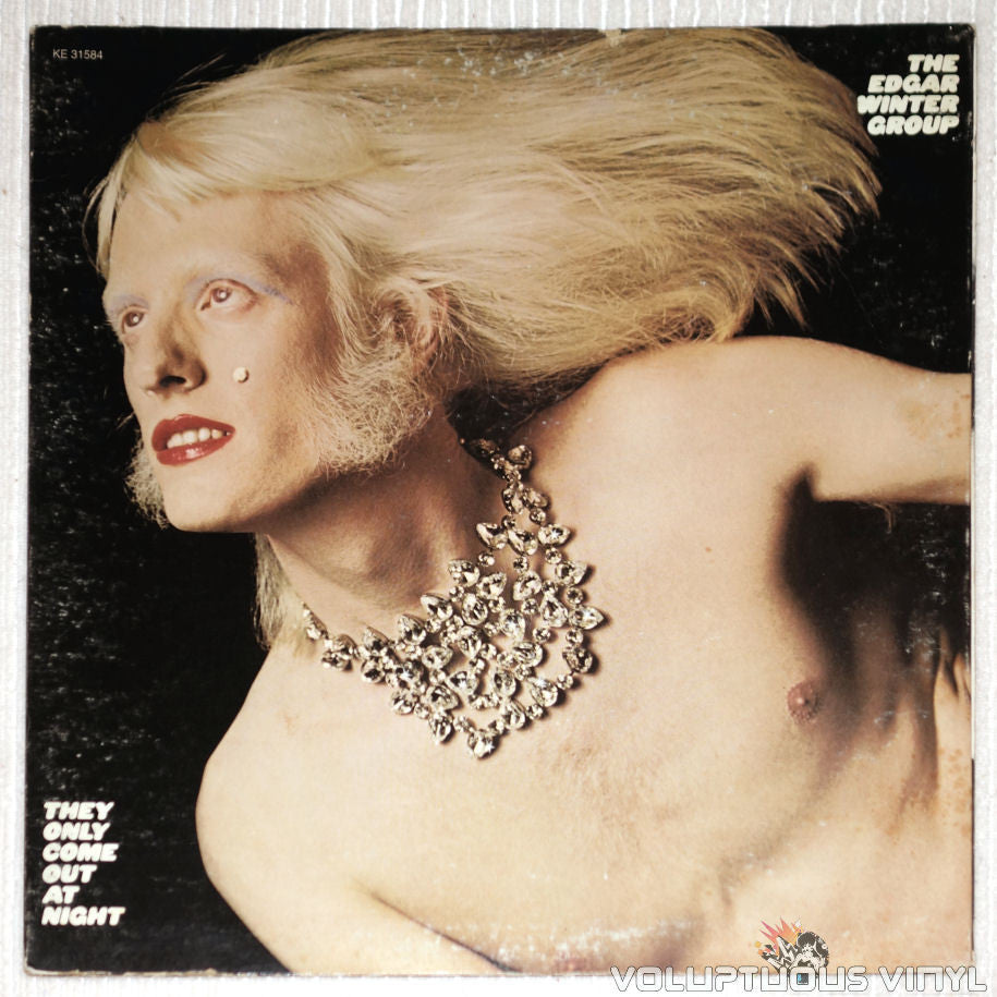 Edgar Winter Group, The ‎– They Only Come Out At Night - Vinyl Record - Front Cover