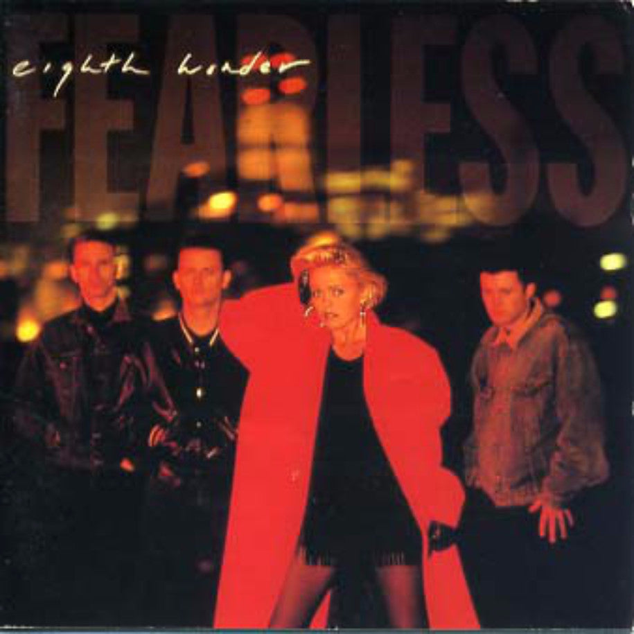 Eighth Wonder ‎– Fearless - Vinyl Record - Front Cover