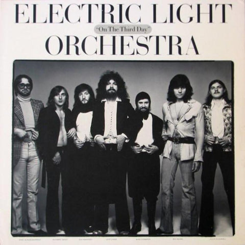 Electric Light Orchestra ‎– On The Third Day vinyl record front cover