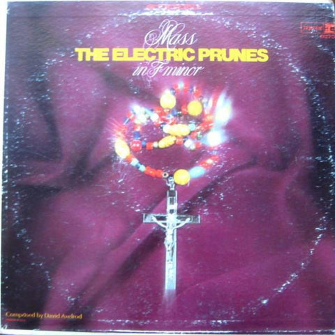 The Electric Prunes ‎– Mass In F Minor vinyl record front cover