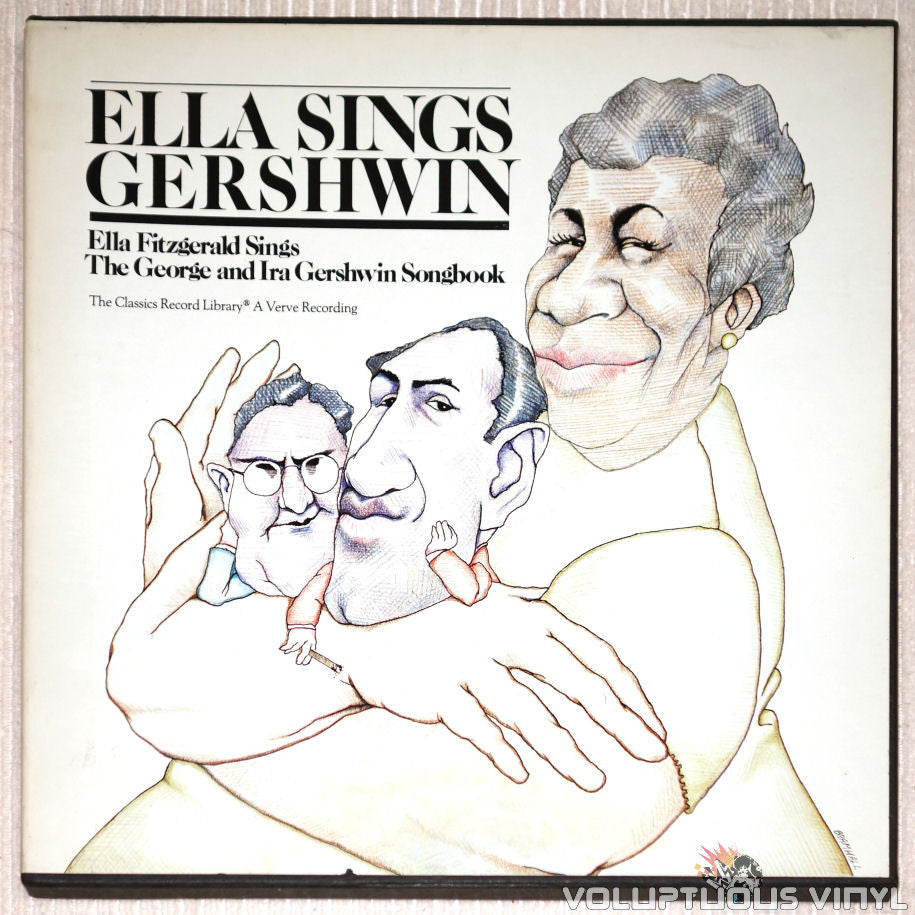Ella Fitzgerald ‎– Sings The George & Ira Gershwin Song Books - Vinyl Record Box Set - Front Cover