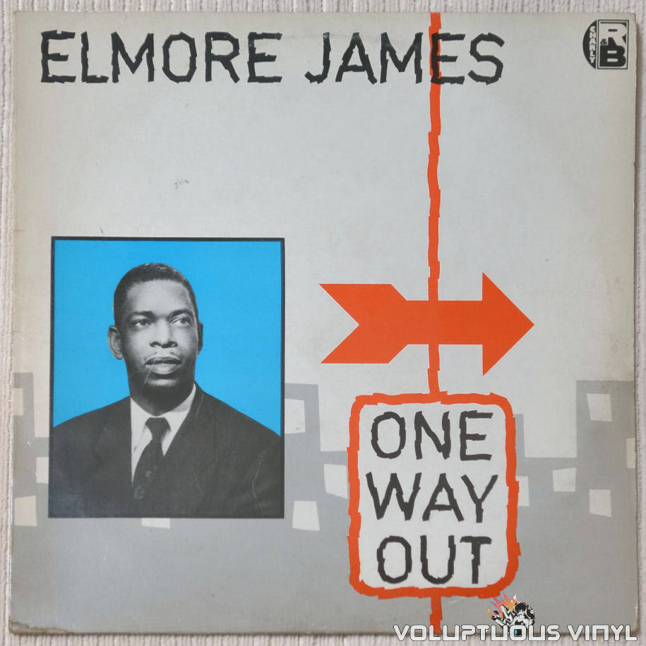 Elmore James ‎– One Way Out vinyl record front cover