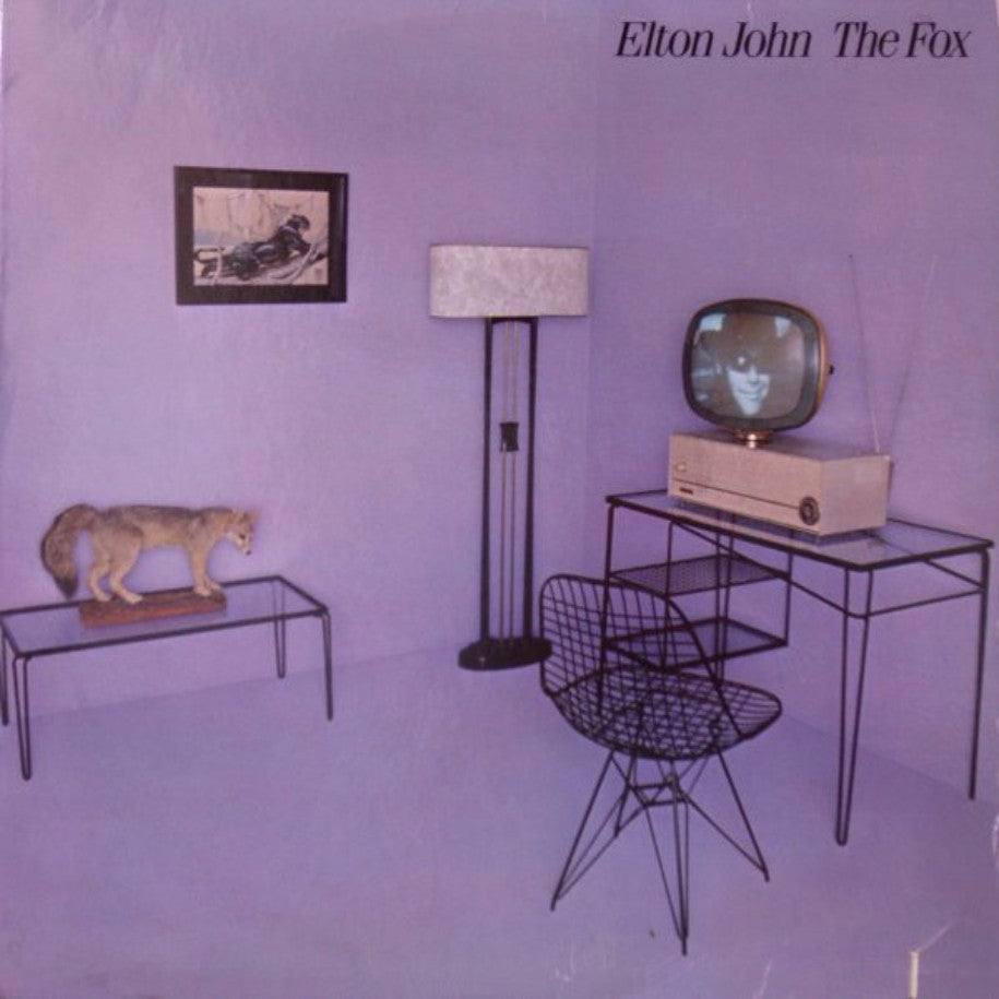 Elton John ‎– The Fox - Vinyl Record - Front Cover