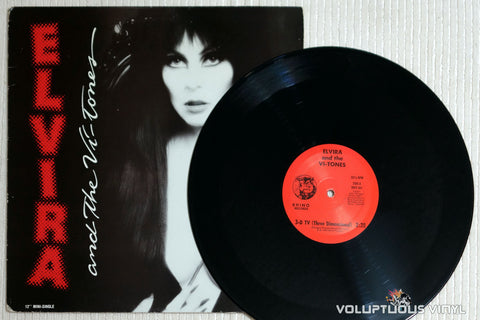 Elvira and The Vi-Tones ‎– 3-D TV - Vinyl Record