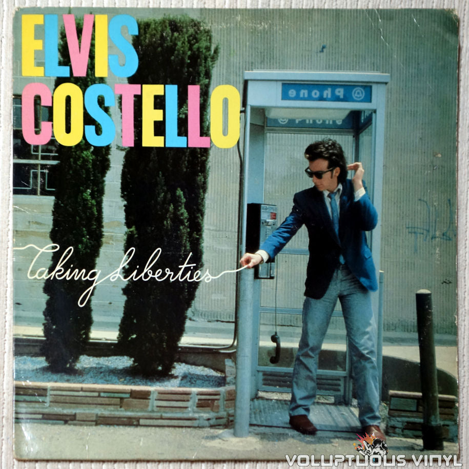 Elvis Costello ‎– Taking Liberties - Vinyl Record - Front Cover