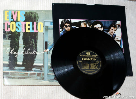 Elvis Costello ‎– Taking Liberties - Vinyl Record