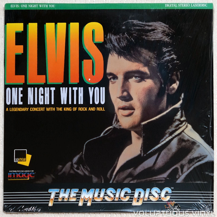 Elvis: One Night with You - Laserdisc- Front Cover