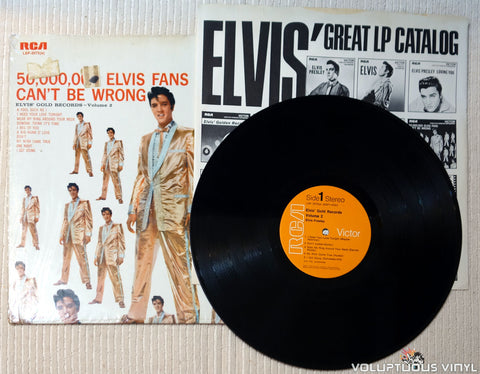 Elvis Presley ‎– 50,000,000 Elvis Fans Can't Be Wrong vinyl record