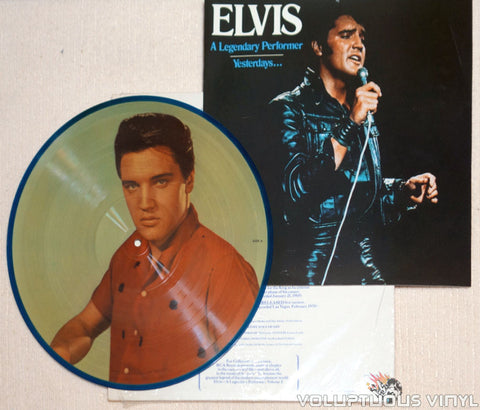 Elvis Presley ‎– A Legendary Performer - Volume 3 - Vinyl Record