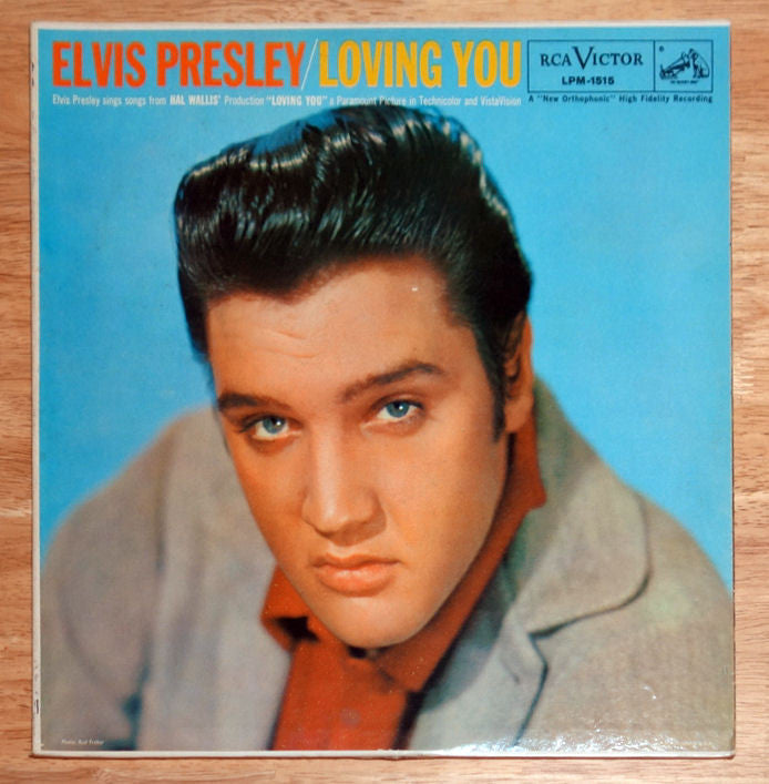 Elvis Presley ‎Loving You Vinyl Record Front Cover