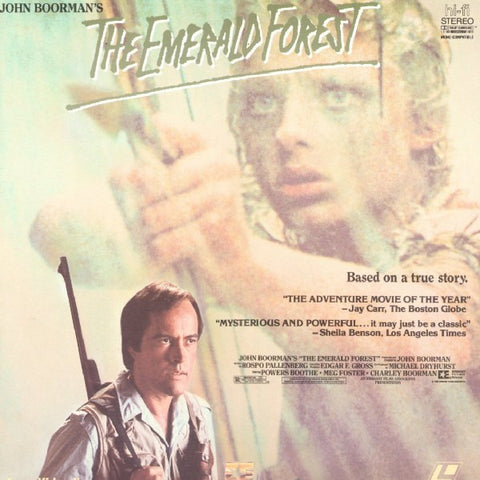 Emerald Forest, The (1985) LaserDisc