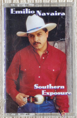 Emilio Navaira ‎– Southern Exposure (1993) SEALED