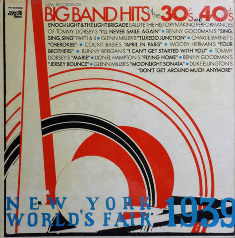 Enoch Light & The Light Brigade ‎– Big Band Hits Of The 30's & 40's (1971) Cheap Vinyl Record