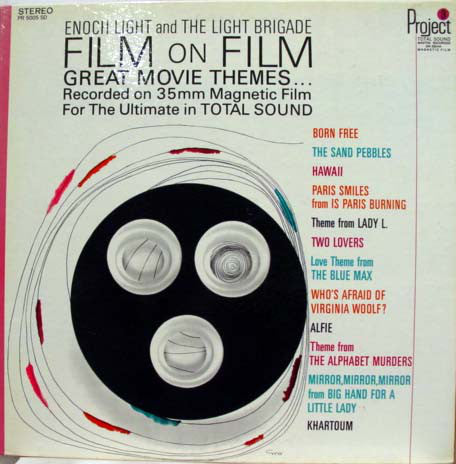 Enoch Light And The Light Brigade ‎– Film On Film • Great Movie Themes (1966) Cheap Vinyl Record