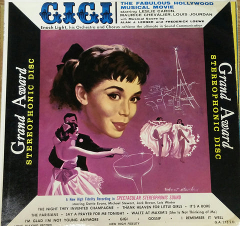 Enoch Light ‎– GigI (Unknown) Cheap Vinyl Record